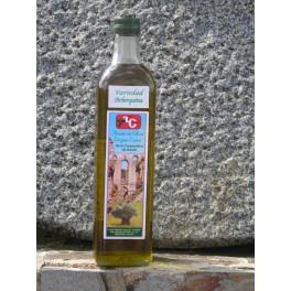 Botella de cristal 750 Ml Variedad Arbequina (sin filtrar)