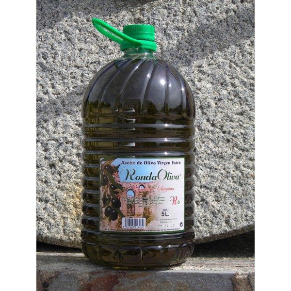 Garrafa de 5 litros variedad arbequina