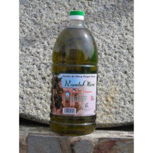 Garrafa de dos litros variedad Arbequina